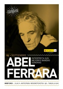 ABEL FERRARA @ Moby Dick Club | Madrid | Comunidad de Madrid | Spain
