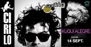 CIRILO + KUQUI ALEGRE @ Costello Club | Madrid | Comunidad de Madrid | Spain