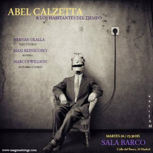 ABEL CALZETTA Y LOS HABITANTES DEL TIEMPO @ BarCo | Madrid | Comunidad de Madrid | Spain