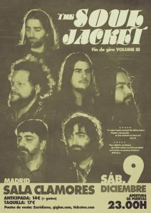 THE SOUL JACKET @ Sala Clamores | Madrid | Comunidad de Madrid | Spain