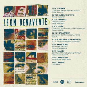 LEÓN BENAVENTE @ La Riviera | Madrid | Comunidad de Madrid | Spain