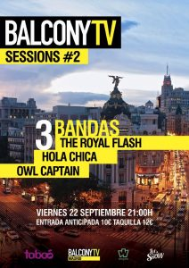 HOLA CHICA + THE ROYAL FLASH + OWL CAPTAIN @ Sala Taboo | Madrid | Comunidad de Madrid | Spain