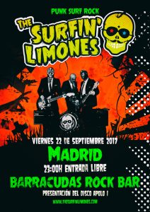 THE SURFIN' LIMONES @ Barracudas | Madrid | Comunidad de Madrid | Spain