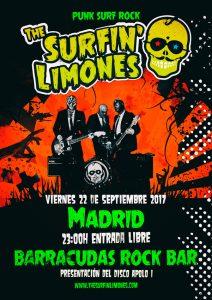 THE SURFIN' LIMONES @ Barracudas | Madrid | Comunidad de Madrid | Spain