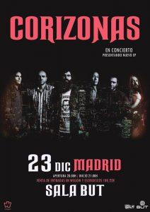 CORIZONAS @ Sala But | Madrid | Comunidad de Madrid | Spain
