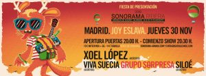 PRESENTACIÓN SONORAMA RIBERA 2018 @ Joy Eslava | Madrid | Comunidad de Madrid | Spain