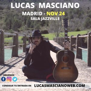 LUCAS MASCIANO @ Jazzville   Madrid   Comunidad de Madrid   Spain