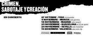 LAGARTIJA NICK @ Sala Caracol | Madrid | Comunidad de Madrid | Spain