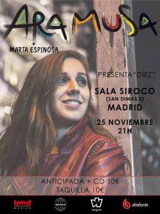 ARA MUSA + MARTA ESPINOSA @ Siroco Club   Madrid   Comunidad de Madrid   Spain