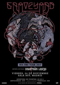 GRAVEYARD + DOWNTOWN LOSERS @ Sala But | Madrid | Comunidad de Madrid | Spain