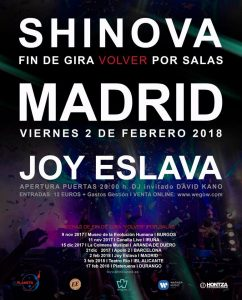 SHINOVA @ Joy Eslava | Madrid | Comunidad de Madrid | Spain