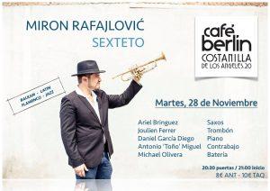 MIRÓN RAFAJLOVIC QUINTETO @ Café Berlín | Madrid | Comunidad de Madrid | Spain