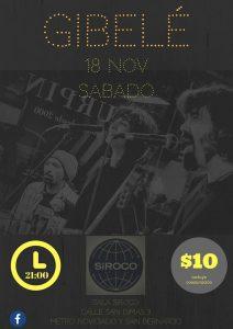 GIBELÉ @ Siroco Club   Madrid   Comunidad de Madrid   Spain