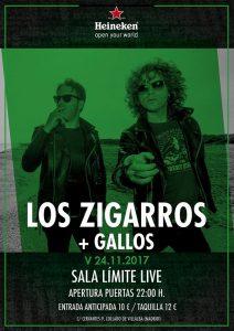 LOS ZIGARROS + GALLOS @ El límite live   Collado Villalba   Comunidad de Madrid   Spain