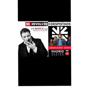 REVOLVER + DESPISTAOS @ WiZink Center   Madrid   Comunidad de Madrid   Spain