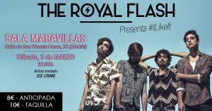 THE ROYAL FLASH + ICE CRIME @ Maravillas Club | Madrid | Comunidad de Madrid | Spain