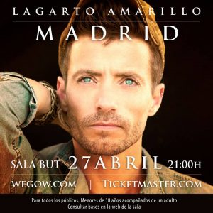 LAGARTO AMARILLO @ Sala But | Madrid | Comunidad de Madrid | Spain