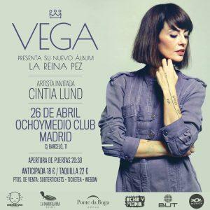 VEGA + CINTIA LUND @ Ochoymedio Club | Madrid | Comunidad de Madrid | Spain