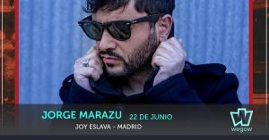 JORGE MARAZU @ Joy Eslava | Madrid | Comunidad de Madrid | Spain