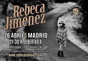 REBECA JIMÉNEZ @ Café Libertad 8 | Madrid | Comunidad de Madrid | Spain
