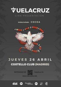 VUELACRUZ + COCOA @ Costello Club | Madrid | Comunidad de Madrid | Spain