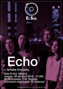 ECHO @ El Sol | Madrid | Comunidad de Madrid | Spain