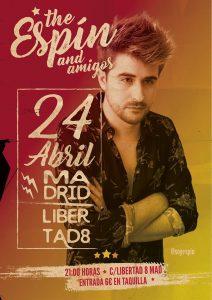 ESPÍN @ Café Libertad 8 | Madrid | Comunidad de Madrid | Spain