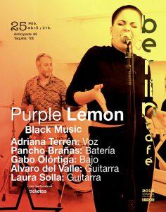 PURPLE LEMON @ Café Berlín | Madrid | Comunidad de Madrid | Spain