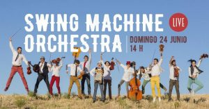 SWING MACHINE ORCHESTRA @ Areia Colonial Chill Out | Madrid | Comunidad de Madrid | Spain