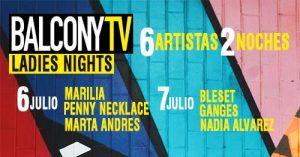 BALCONY TV: MARILIA + PENNY NECKLACE + MARTA ANDRÉS @ Moby Dick Club | Madrid | Comunidad de Madrid | Spain