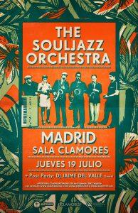 THE SOULJAZZ ORCHESTRA @ Clamores | Madrid | Comunidad de Madrid | Spain