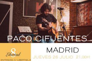 PACO CIFUENTES @ Café Libertad 8 | Madrid | Comunidad de Madrid | Spain