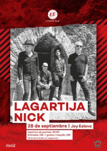 LAGARTIJA NICK @ Joy Eslava
