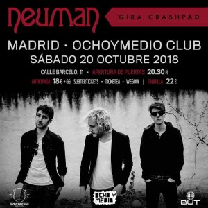 NEUMAN @ Ochoymedio Club