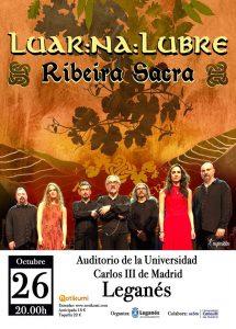 LUAR NA LUBRE @ Auditorio de la Universidad Carlos III de Madrid