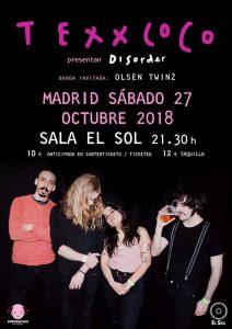TEXXCOCO @ Sala Sol De Madrid