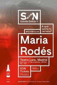 MARÍA RODÉS @ Teatro Lara