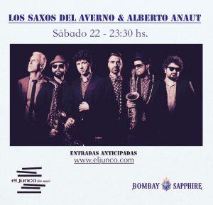 LOS SAXOS DEL AVERNO Y ALBERTO ANAUT @ El Junco