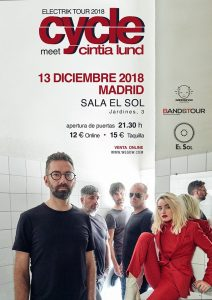 CYCLE + CINTIA LUND @ Sala Sol De Madrid