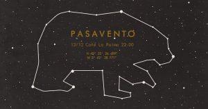 PASAVENTO @ CAFE LA PALMA