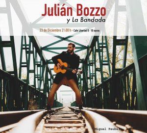 JULIÁN BOZZO Y LA BANDADA. @ CAFE LIBERTAD 8