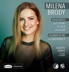 MILENA BRODY @ La Fulanita de Tal