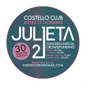 JULIETA 21 @ Costello Club