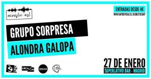 VENTURI + ALONDRA GALOPA @ Superlativo Bar