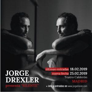 JORGE DREXLER @ Teatro Calderón