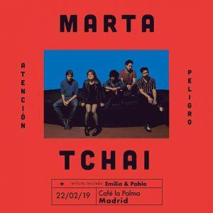 MARTA TCHAI @ Café La Palma