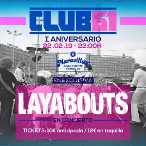 LAYABOUTS @ Maravillas Club