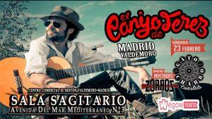 EL CANIJO DE JEREZ + GATO CHARRO + ZORROS @ Sala Sagitario