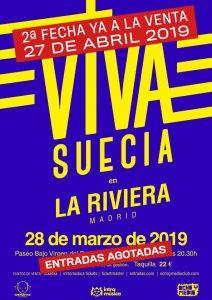 VIVA SUECIA @ Ochoymedio Club